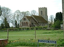 All Saints church, Roydon, Norfolk. - geograph.org.uk - 161842.jpg