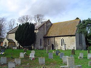 Eyke - Photograph of the All Saints Church, located in the Civil Parish of Eyke Suffolk.