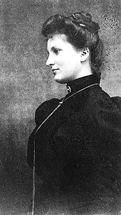 Alma Schindler (ca. 1899, als Gustav Mahler sie kennenlernte) (Quelle: Wikimedia)