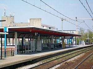 Almere Buiten railway station - Image: Almere Buiten