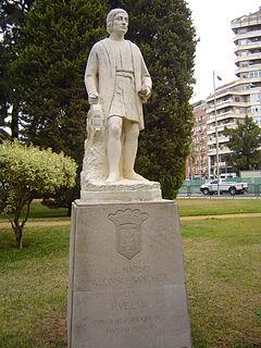 Alonso Sánchez Spanish explorer