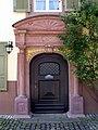 Altes Amtsgericht in Kenzingen, Portal.jpg