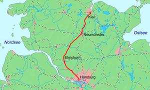 Hamburg altonakiel railway wikivisually overview sciox Choice Image