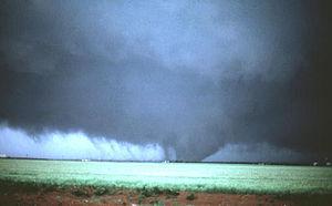 Altus, Oklahoma - Image: Altus Oklahoma Tornado