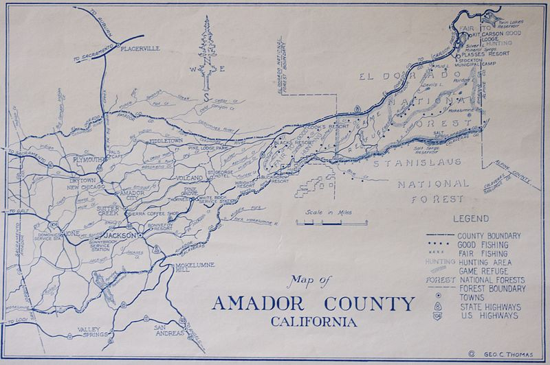 amador county dating Located here in amador county, just outside the quaint village of volcano, black chasm cavern was designated a national natural landmark by the national park service in 1976 a.