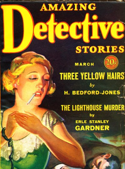 Amazing Detective Stories March 1931