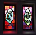 American Colony, Stained glass windows at Emanuel church IMG 2303.JPG