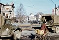 American GI trucks in Seoul Central District, South Korea in 1954.jpg