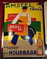 Amstel thuis dus Houdbaar enamel advertising sign.JPG