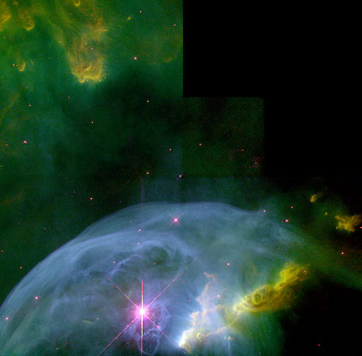 An Expanding Bubble in Space - GPN-2000-000876
