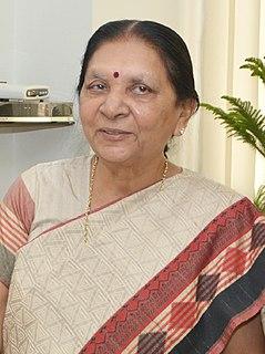 Anandiben Patel Indian politician and Governor of Uttar Pradesh