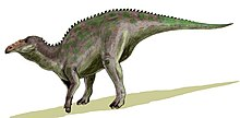 Modern artistic reconstruction of Edmontosaurus