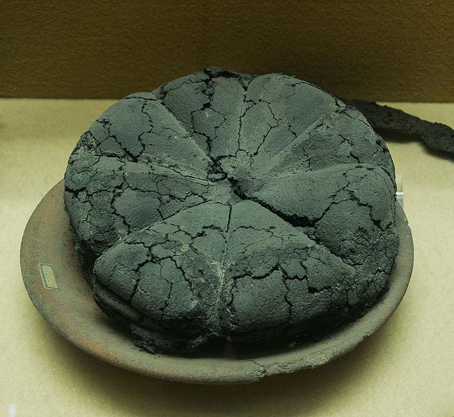 File:Ancient roman bread Pompeii Museum Boscoreale.jpg