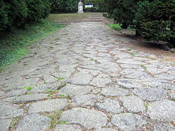 Ancient roman road which leaded from Savaria to the imperial Rome.jpg