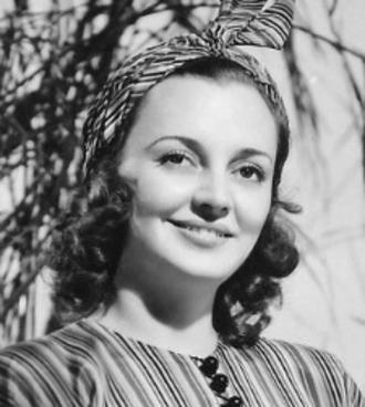 Andrea Leeds - Leeds in a publicity photo ca. 1930s