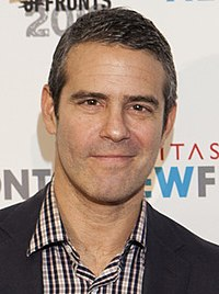 Andy Cohen at Digitas NewFront 2012 (7116540321) (cropped).jpg