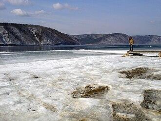 Angara River - Angara River at Talzy close to Lake Baikal