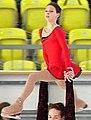Angelika Pylkina & Niklas Hogner 2004 Junior Grand Prix Germany (cropped) - Pylkina.jpg