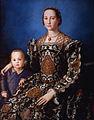Angelo Bronzino - Eleonora of Toledo with her son Giovanni de' Medici - WGA3247.jpg