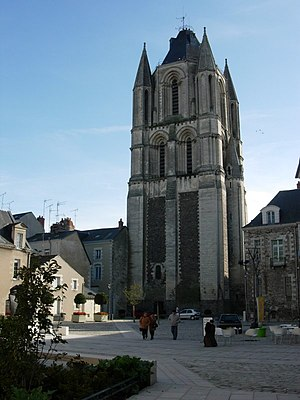 Albinus of Angers - Saint-Aubin, Angers.