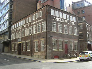 Listed buildings in Sheffield City Centre - Image: Anglo Works