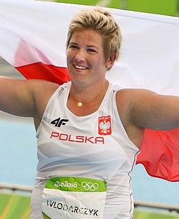 Anita Włodarczyk Polish hammer thrower