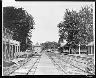 Annapolis Junction, Maryland - Image: Annapolis Junction station circa 1900