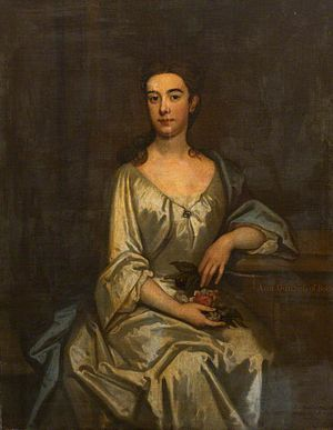 John Vaughan, 3rd Earl of Carbery - John Vaughan had two children with his second wife, Anne Savile: George and Anne (pictured).