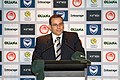 Anthony Di Pietro giving a press conference at Melbourne Victory headquarters.jpg