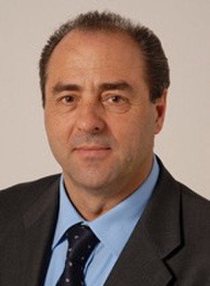 Italian Minister of Infrastructures and Transports - Image: Antonio Di Pietro 2006