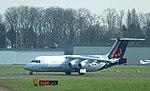 Antwerp Brussels Airlines AVRO RJ-100 OO-DWD.JPG