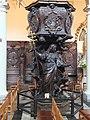 Antwerp Carolus Borromeus pulpit 01.JPG
