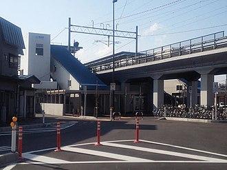 Tsutsui Station (Aomori) - Tsutsui Station in June 2014
