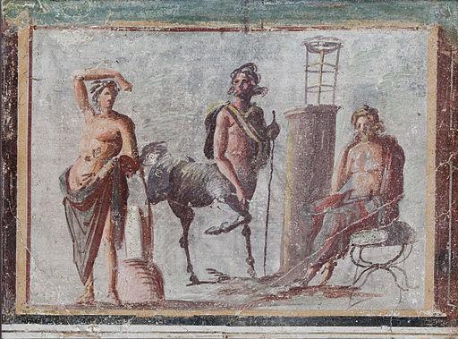 Apollo Chiron Asclepios MAN Napoli Inv8846