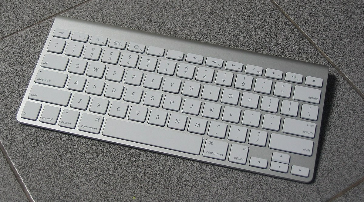 Apple Keyboard Wikipedia - Map us keyboard
