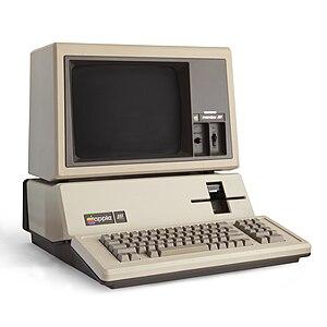 Apple III+ computer.
