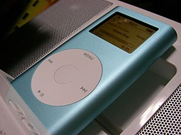 Apple iPod mini blue-2005-03-07.jpg