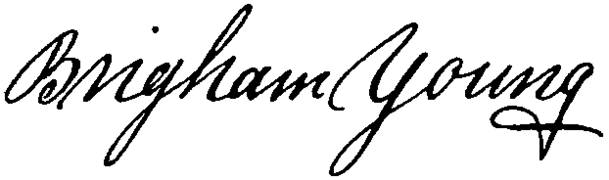 Appletons' Young Brigham signature.png
