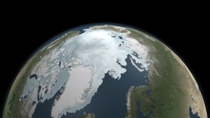پرونده:Approaching the 2011 Arctic Sea Ice Minimum.ogv