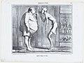 Après l'eau, le feu, from Croquis d'Été, published in Le Charivari, July 9, 1858 MET DP876709.jpg
