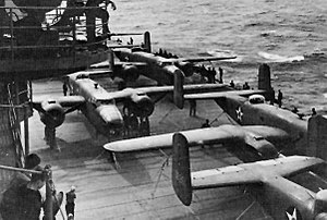April 18 1942 USS Hornet CV8 Doolittle