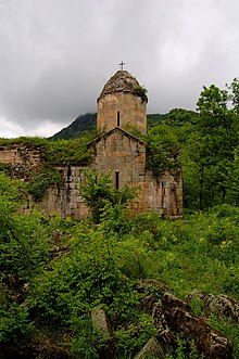 Araqeloc Monastery in the Tavush Province of Armenia.jpg