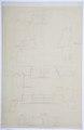 Arbetsritning för de större fönstren, för fastigheten nr 4 Hamngatan - Hallwylska museet - 108700.tif