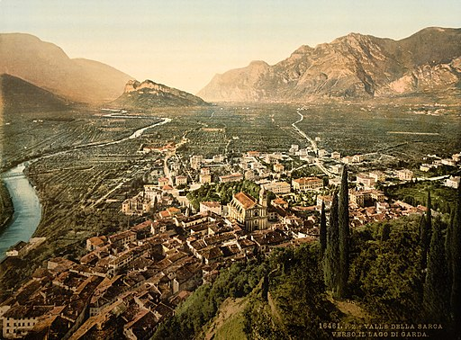 Arco and Valley of the Sarca, Trento, Italy, 1890-1900