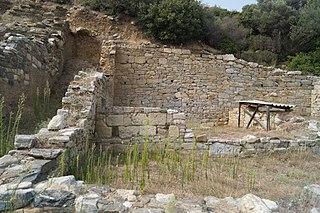 Argilus human settlement in Greece