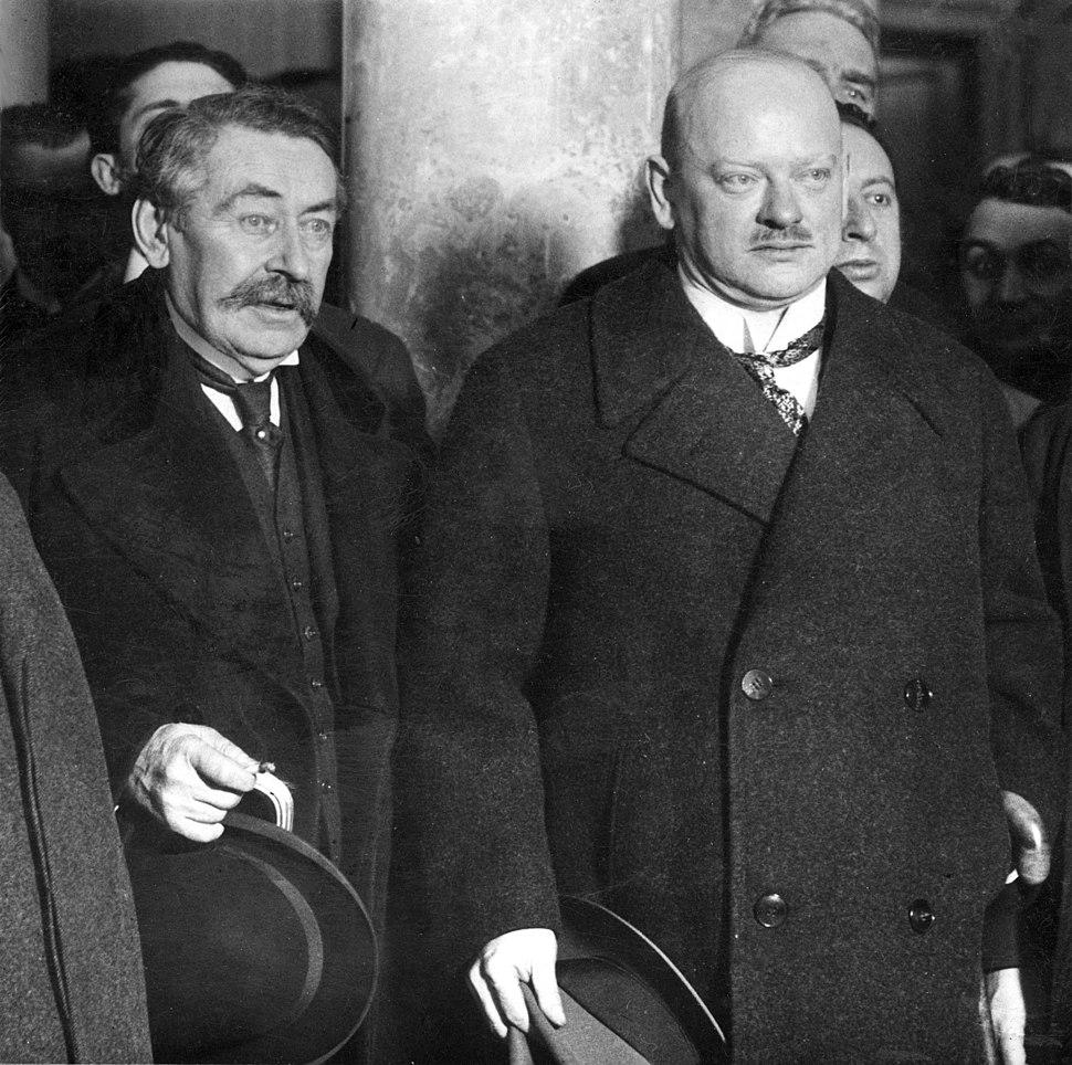Aristide Briand and Gustav Stresemann