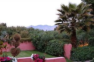 Arizona Inn garden, Tucson