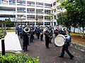 Army Academy Military Band Exercise in Education Building Court 20130302a.JPG