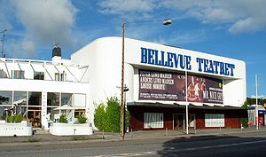 Bellevue Teatret - The facade