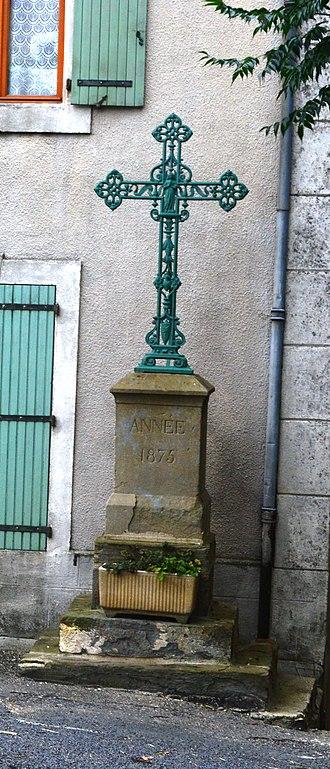 Arquettes-en-Val - A Wayside Cross in Arquettes-en-Val